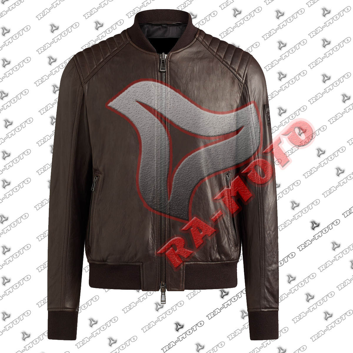 454fd70ea RA- 200543 SIDMOUT RECTORY RED\PERSHALL BOMBER JACKET
