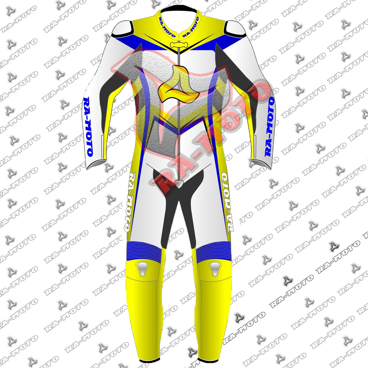 RA-15291 M51 SuperMoto leather racing suit