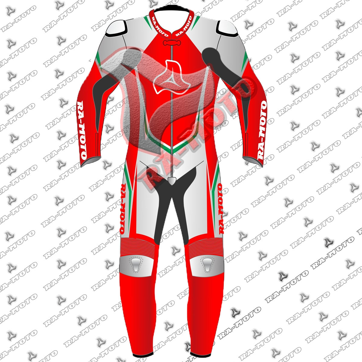 RA-15333  Typhon Downhill leather  suit