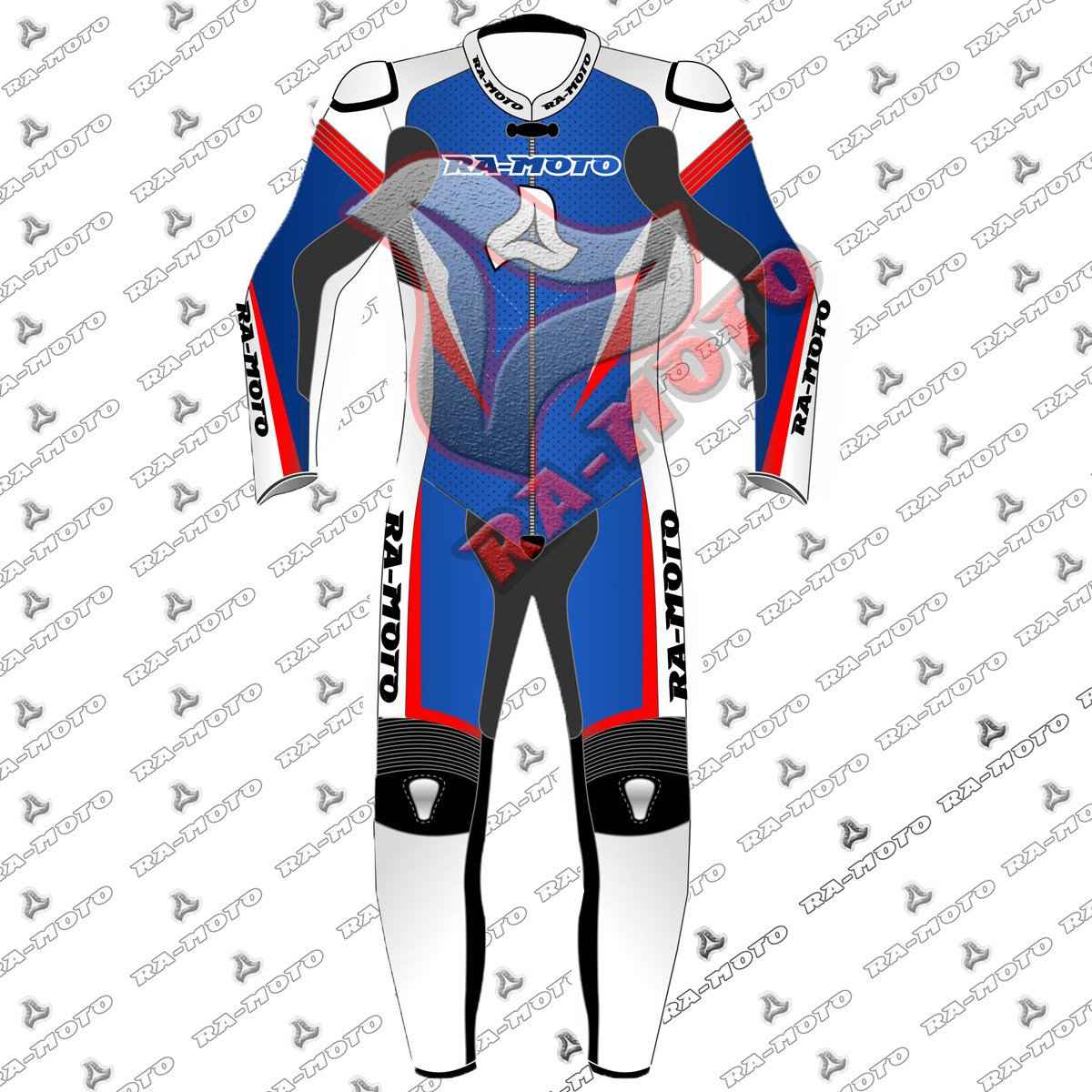 RA-15321  Penguin  SideCar Racing leather  suit