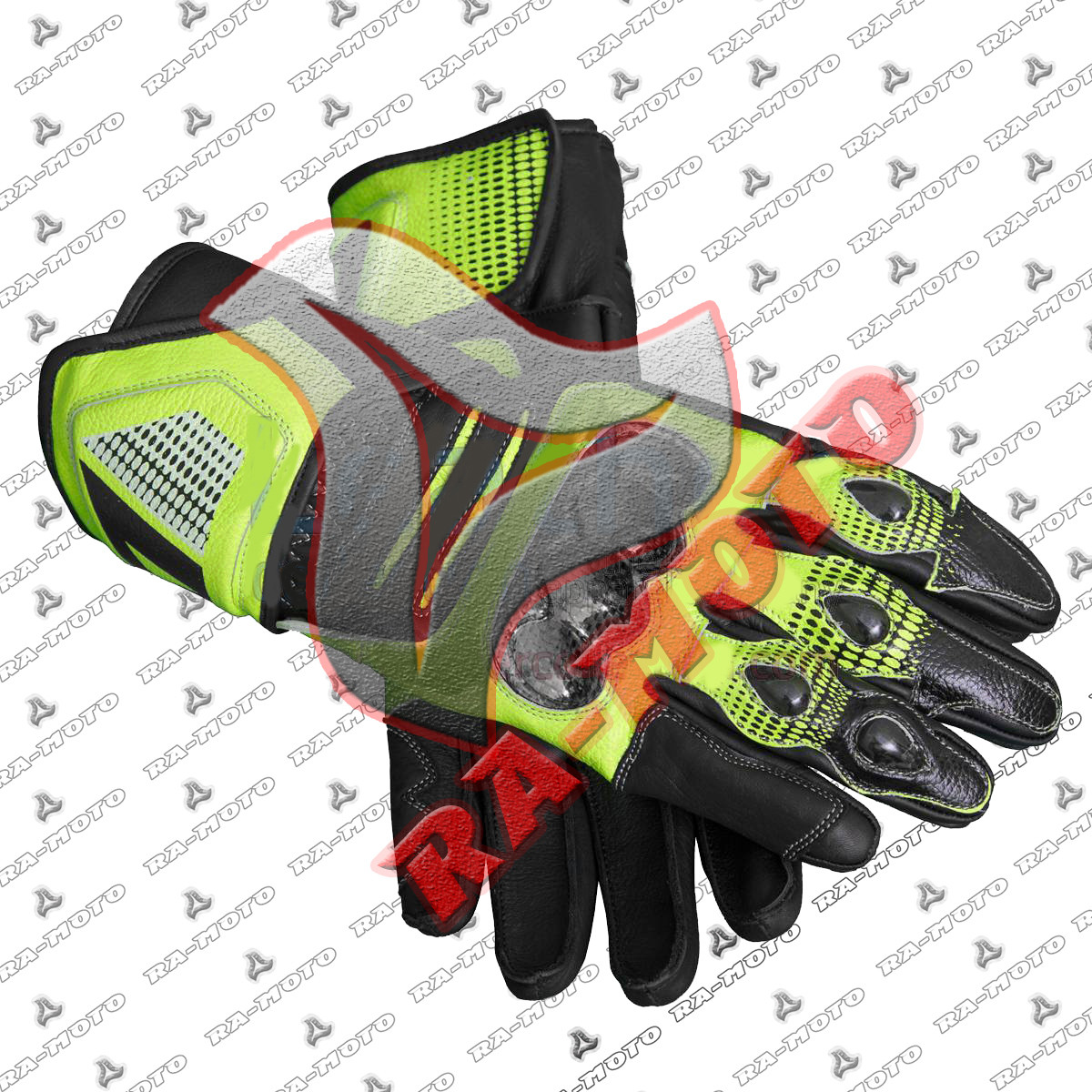 RA-15231 Valentino Rossi Motorcycle Race Gloves