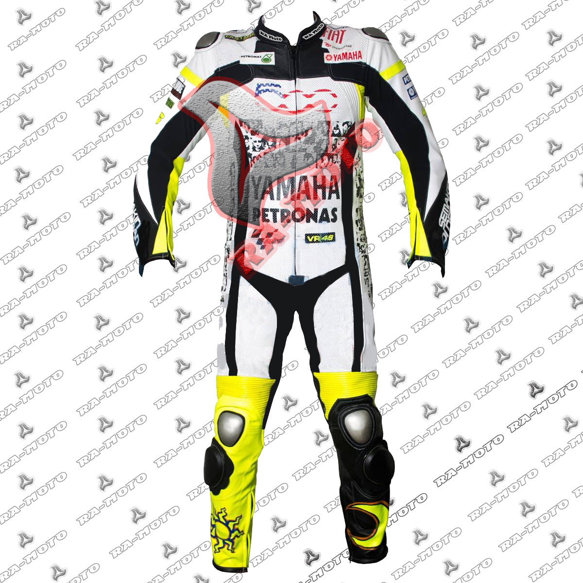 RA-15203 Valentino Rossi Special 500 Mila Race Suit