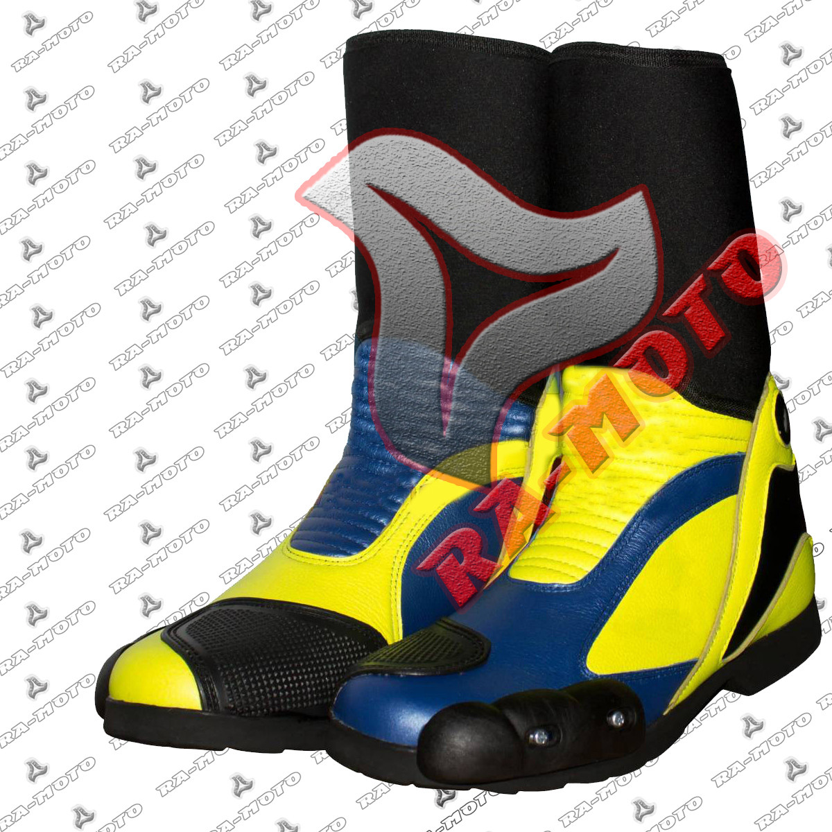 RA-15227 Valentino Rossi 2014 Motorcycle Race Boots